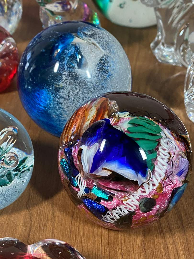 Lot # 637 - International Hand Blown Glass Including Waterford Crystal (main image)