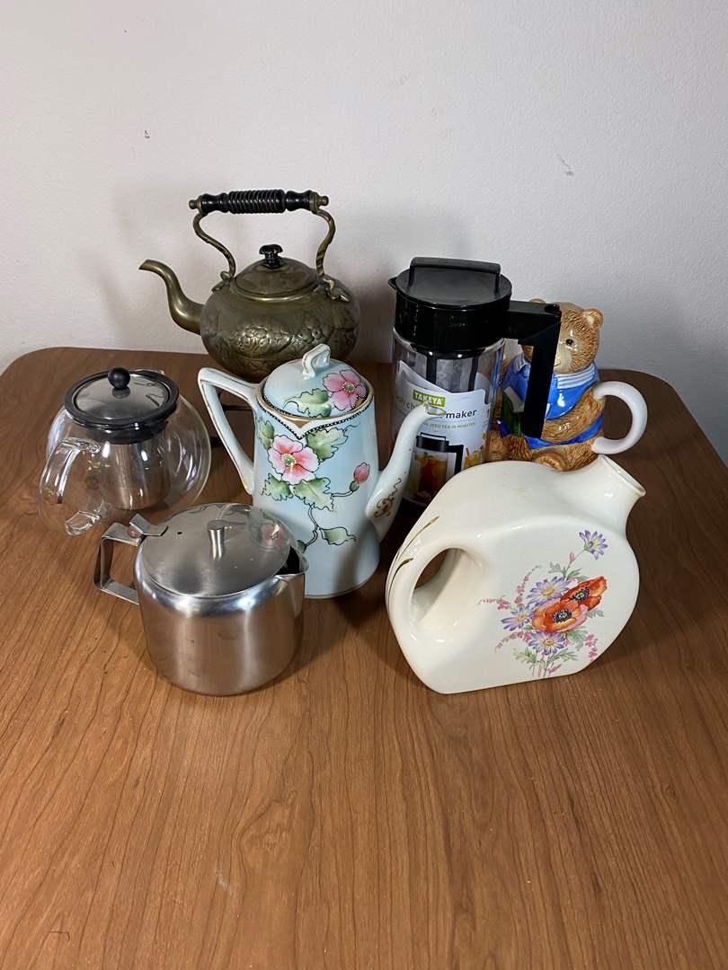 Lot # 645 - Tea Pots (main image)