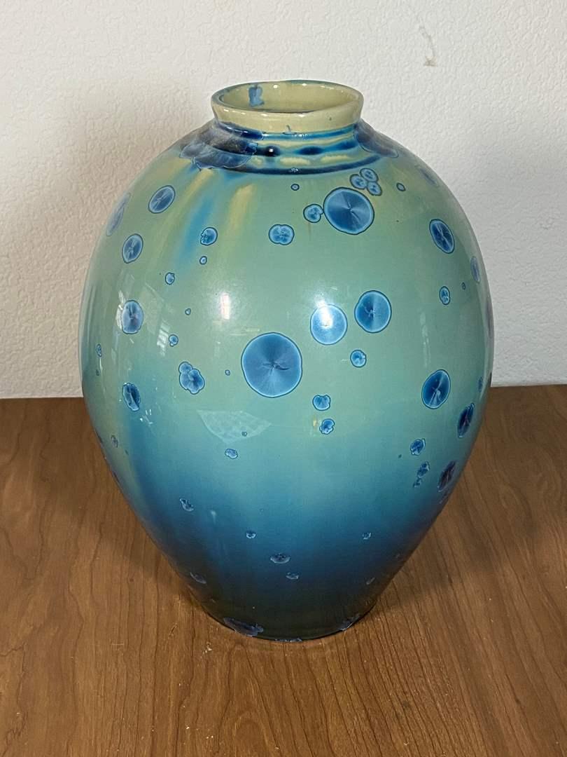 """Lot # 648 - Beautiful Art Vase 12"""" Tall (main image)"""