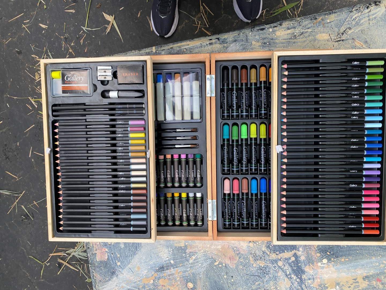 Lot # 60 - NEW Artist supply box (main image)