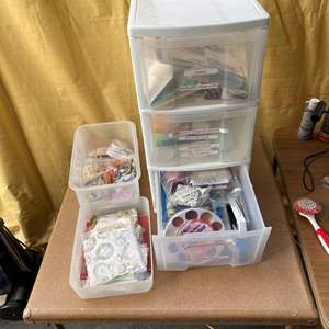 Lot # 68 - Totes full of art supplies