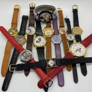 Lot # 96 - Disney Watches