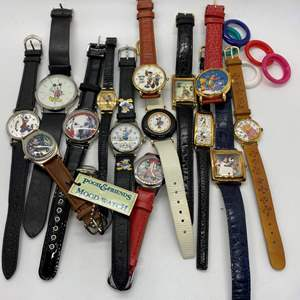 Lot # 97 - Disney Watches