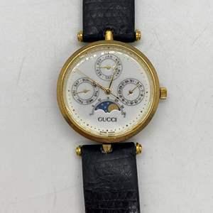 Lot # 99 - Gucci Moon Phase Watch - Circa 1990's
