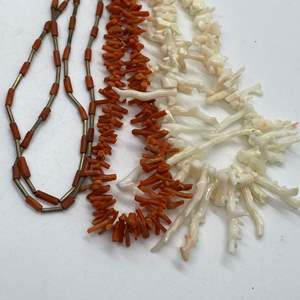 Lot # 109 - Coral Necklaces & Earrings