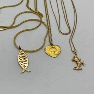 Lot # 125 - 14k Gold Hallmark Jewelry (14.7g)