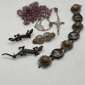 Lot # 130 - Vintage Sterling Jewelry (32.8+g)