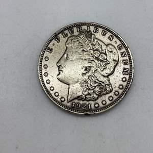Lot # 135 - 1921 Morgan Silver Dollar