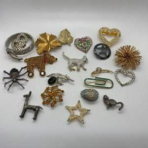 Lot # 217 - Brooches