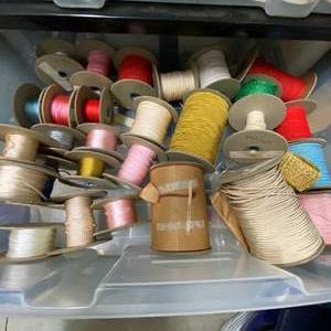 Lot # 252 - Drawer Full of Ribbon