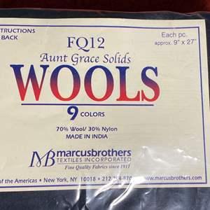 Lot # 356 - Wool Felts
