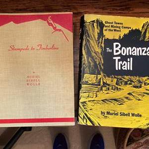 Lot # 386 - Vintage Hardback Muriel Sibell Wolle Books - One is Author Signed