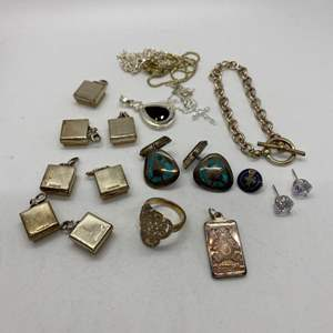 Lot # 420 - Sterling Jewelry (49+g)