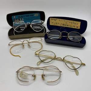 Lot # 424 - Antique Glasses