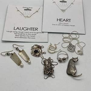 Lot # 428 - Silver 925 Jewelry (31.+g)