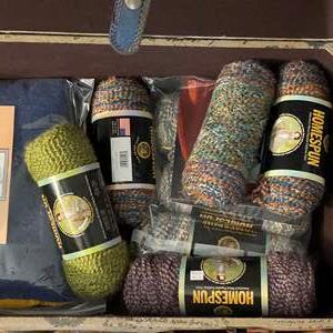 Lot # 455 - Yarn and Knitting Supplies