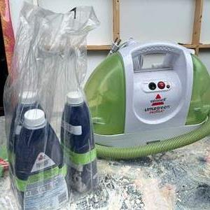 Lot # 538 - Bissell Little Green Portable Carpet Cleaner