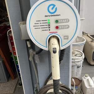 Lot # 550 - Zero Emissions Nissan Charging Station