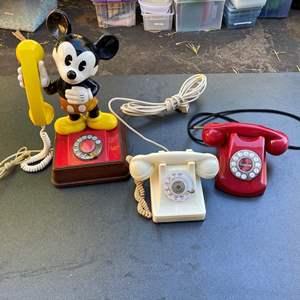Lot # 617 - Vintage Phones
