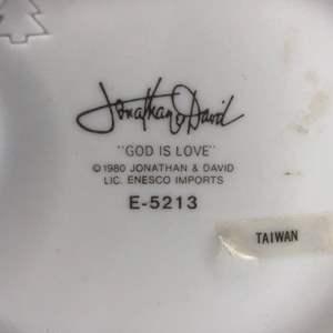 "Lot # 10 - ""God is Love"" Jonathan David Precious Moments Figurines"