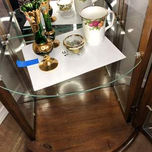 Lot # 16 - Decorative Vases, Music Box and Handpainted Mug