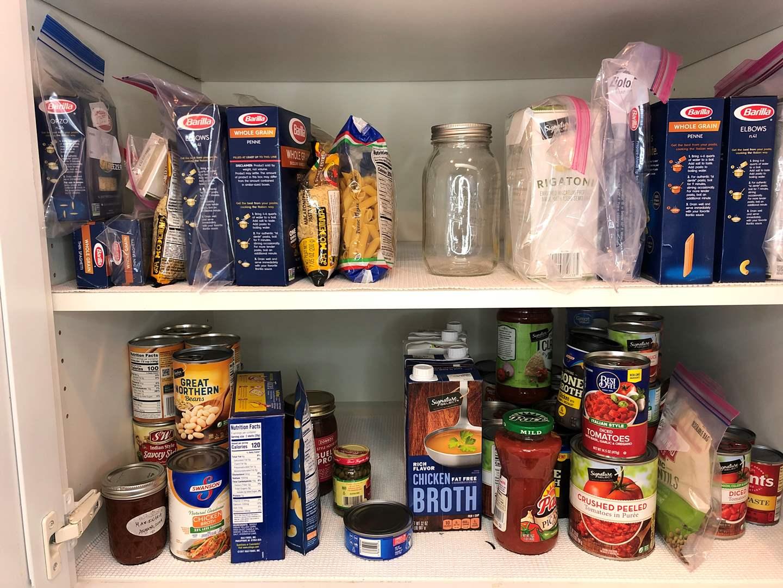 Lot # 47 - Cupboard Full of Dry Goods (main image)