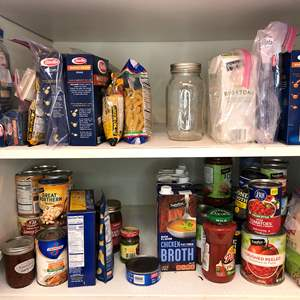 Lot # 47 - Cupboard Full of Dry Goods