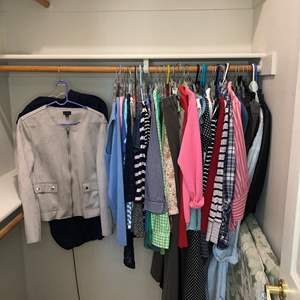 Lot # 51 - Fantastic collection of Women's Clothing  -sizes- s/m, 8/10 Hangers included