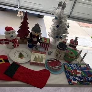 Lot # 60 -  Multiple Christmas Items
