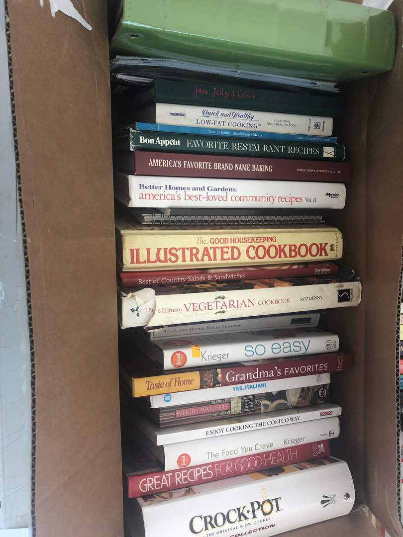 Lot # 72 - Cook Books (main image)