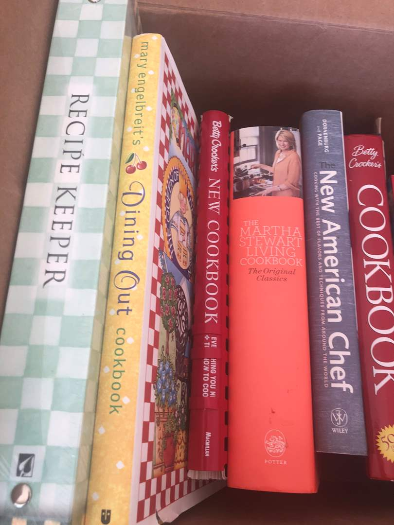 Lot # 73 - Cook Book Library (main image)