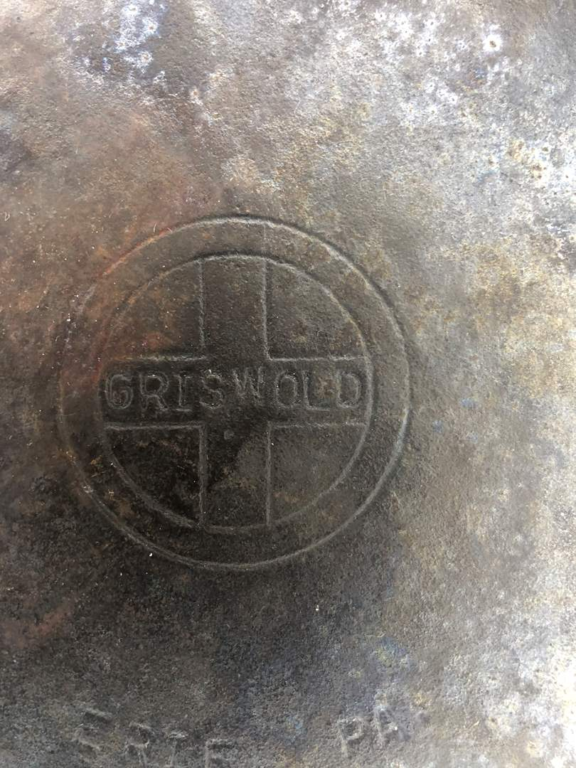 Lot # 83 - Griswold Cast Iron Skillet * highly sought after. (main image)