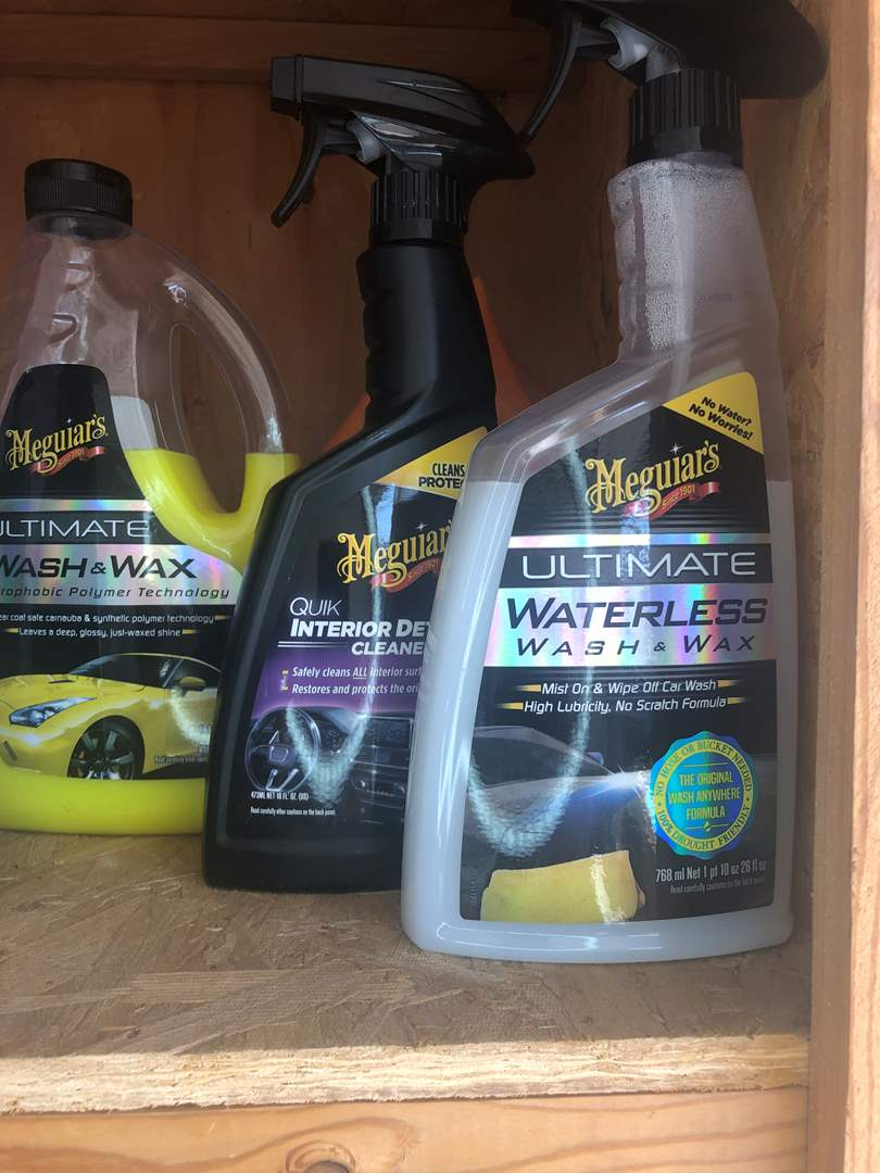 Lot # 84 - Meguiar's Car Cleaning Supplies and More  (main image)
