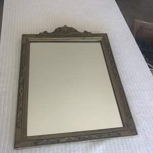 Lot # 87 - Vintage Guilded Astoria Grand Style Framed Mirror