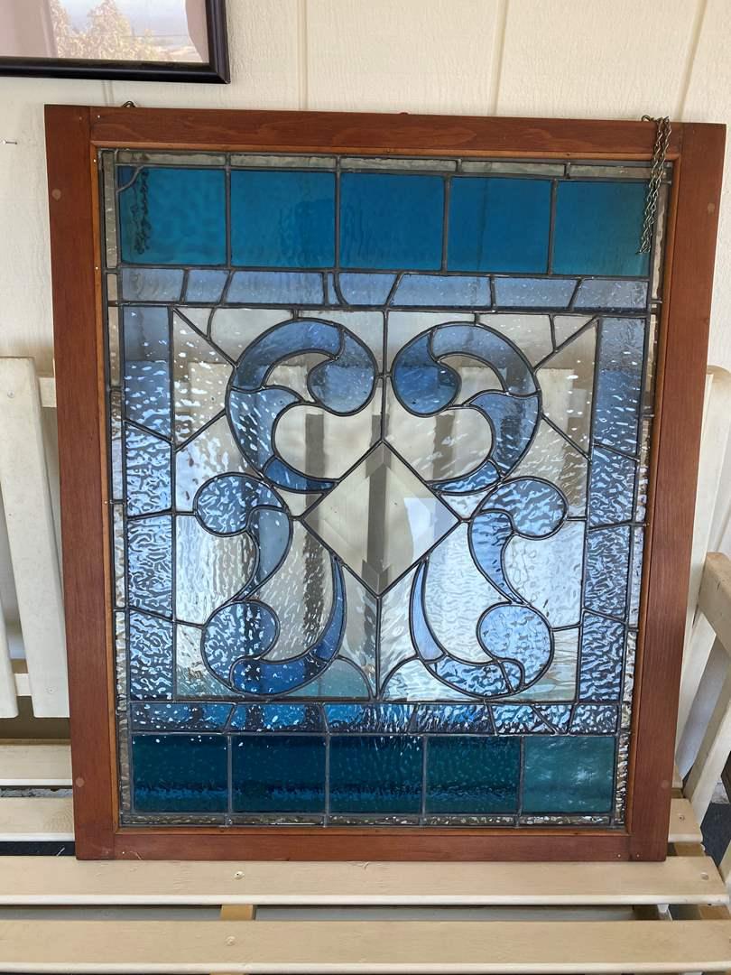 Lot # 658 -  Beautiful Stained Glass Window (main image)