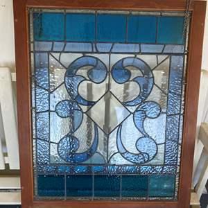 Lot # 658 -  Beautiful Stained Glass Window