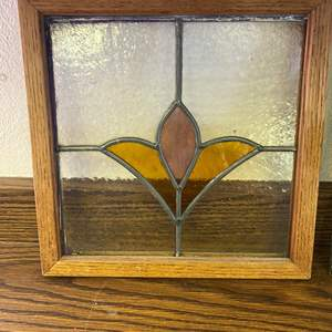 Lot # 660 - Stained Glass Window