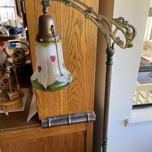 Lot # 665 - Victorian Floor Lamp