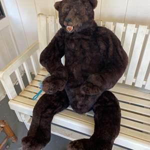 Lot # 668 - 4Ft Tall Hand Made Bear
