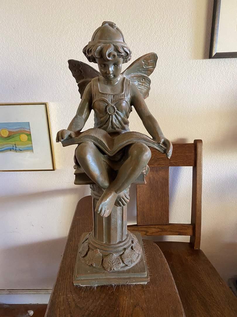 Lot # 670 - Angel Resin Sculpture (main image)