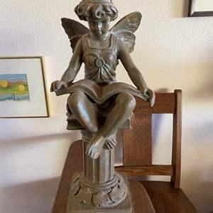 Lot # 670 - Angel Resin Sculpture