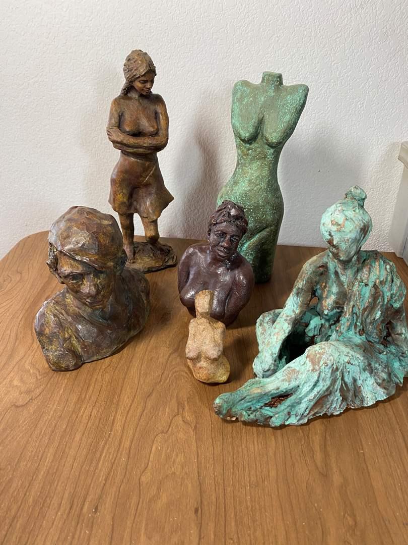 Lot # 677 - Ceramic Sculptures (main image)