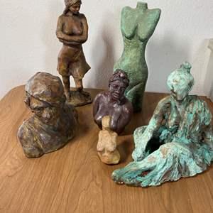 Lot # 677 - Ceramic Sculptures