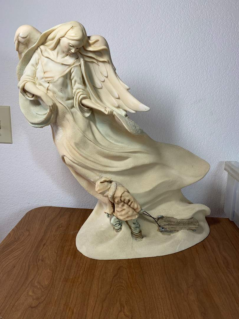 Lot # 678 - Angel Sculpture (main image)