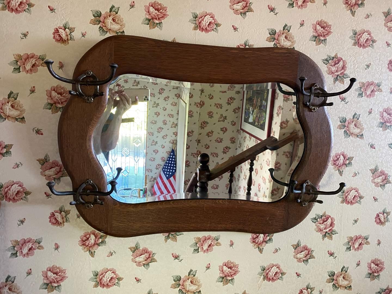 Lot # 684 - Antique Mirror (main image)