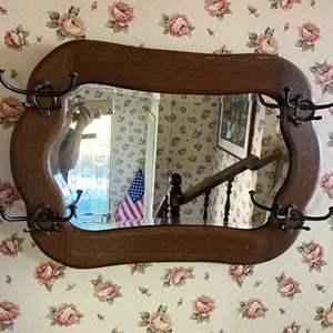 Lot # 684 - Antique Mirror