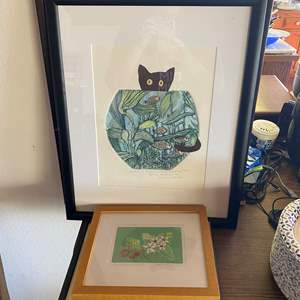 Lot # 688 - Collection of Artist Etchings