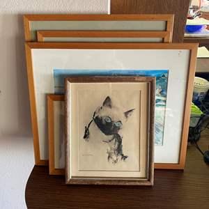 Lot # 696 - Framed Art