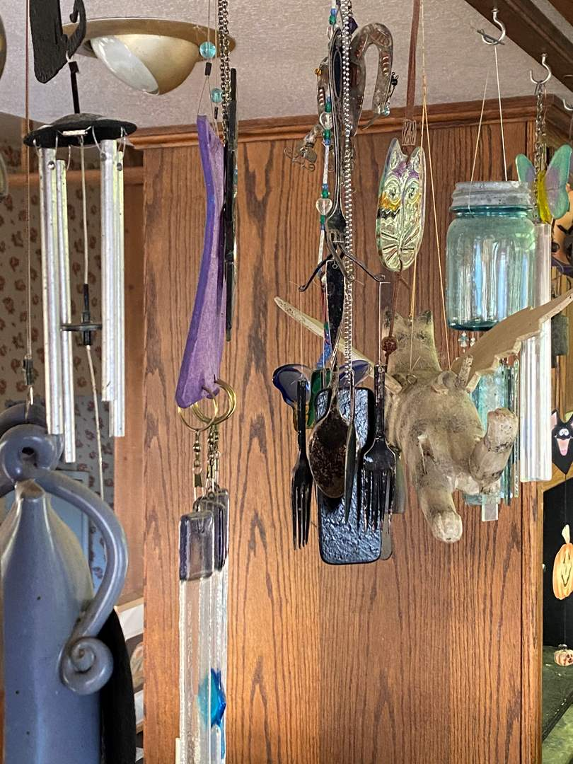 Lot # 701 - Large Collection of Wind Chimes (main image)