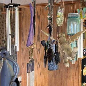 Lot # 701 - Large Collection of Wind Chimes
